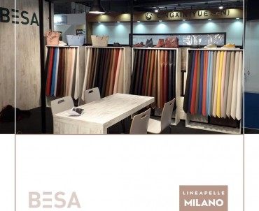 Besa at Milano Lineapelle Fair